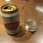 91456259 - ベトナムビールのバーバーバーは缶で出てきます