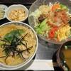 三宝 - 料理写真:冷やし野菜麺と親子丼