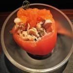 91457275 - Tomate relleno トマトのシーフード詰め