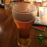 Japanese x Italian BARU HAMAKIN - クラフトビールのブルックリンラガー(626円 税込)豊かな香りと爽やかな飲み口!