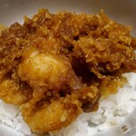 天ぷら新宿つな八 - 小海老のかき揚げ天丼