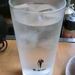 西成一番本店 - 焼酎水割り