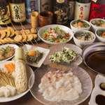 こめらく - 料理写真:鶏つみれと秋野菜の鍋&鯛しゃぶ