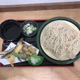 ゆで太郎 大宮ラクーン店 - 天もり。 税込580円。 美味し。