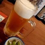 やっこ - 生ビール