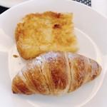 メインダイニング デルナード - クロワッサンとフレンチトースト