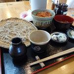 なごみ - ざる蕎麦と天丼