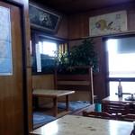 銚子屋 - お店の中の様子