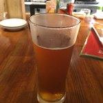 Japanese x Italian BARU HAMAKIN - クラフトビールのだいだいエール(626円 税込)エールビールのうまさです!!