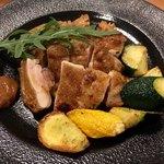 大衆肉居酒屋 ブルーキッチン - 丹波鶏もも肉のグリル