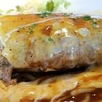 アパッチ - チーズハンバーグランチ