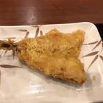 丸亀製麺 - あじ天160円