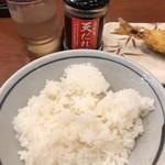 丸亀製麺 - ごはんと天だれ