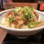丸亀製麺 - 牛山盛り〜