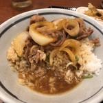 丸亀製麺 - つゆだくだくー