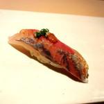 XEX ATAGO GREEN HILLS / tempura & sushi An - アジ