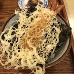 手碾き蕎麦天しん - ミニ天丼アップ