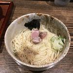 メンドコロ キナリ - 和え玉 (フル 140g)¥200  焦がし葱ではなくて、揉み海苔? メインのらーめんで和え玉で合わせる具材変えてるのかも?