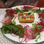 ビストロ ダイア - 紅ズワイガニと夏野菜のテリーヌ