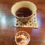 91475188 - お茶と干し柿