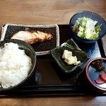 全席完全個室 肉酒場 秀よし - くろむつの西京焼き定食