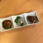 天鮨 - 料理写真:前菜