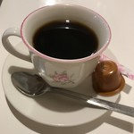 太陽の恵み - サービスのコーヒー