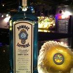 Jam's bar - 梨(幸水)とジンのカクテル