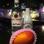 Jam's bar - マンゴーのピニャコラーダ