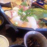漁師料理 かつら亭 - 刺身定食