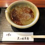 京甘味 文の助茶屋   - ところてん