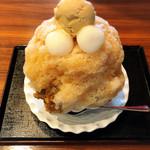 京甘味 文の助茶屋   - 田舎氷