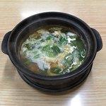 91484072 - かしわ鍋  ¥400