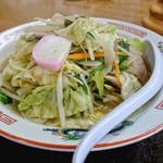 ウベ食堂 - 料理写真:チャンポン[¥500](税別)