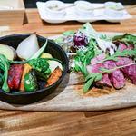 TRATTORIA ACCA - ☆和牛ロース肉の炭火焼 2800円