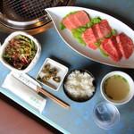 肉料理おがた - 前沢牛焼肉 味くらべ定食