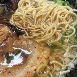 元祖博多 中洲屋台ラーメン 一竜 - 細麺