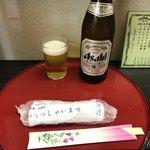 味館食堂 - 瓶ビール