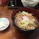 水神そば - 料理写真:冷やしたぬきそば(¥320)