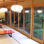 白雲庵 - お庭を見ながら