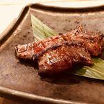 91491583 - ひこま豚のハツの西京焼き