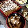 虚空蔵 - 料理写真:舞茸天ぷら付きもち豚せいろそば