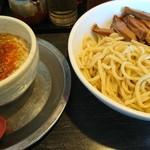 勢拉 - つけ麺・メンマトッピング(無料券使用)