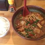 91496242 - 雷々麺+ ライス