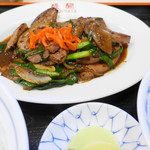 醍醐 - 料理写真:レバニラ定食