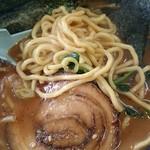91497330 - 太麺、チャーシュー(*´∀`)♪