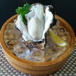 いかだ荘 山上 - 生牡蠣