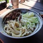 家庭Dining NAGOMI - 肉うどん(冷) 大盛り+100円
