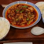 91498549 - 四川麻婆豆腐ランチ