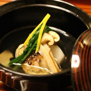 秋の味覚の松茸!など旬の食材が満載